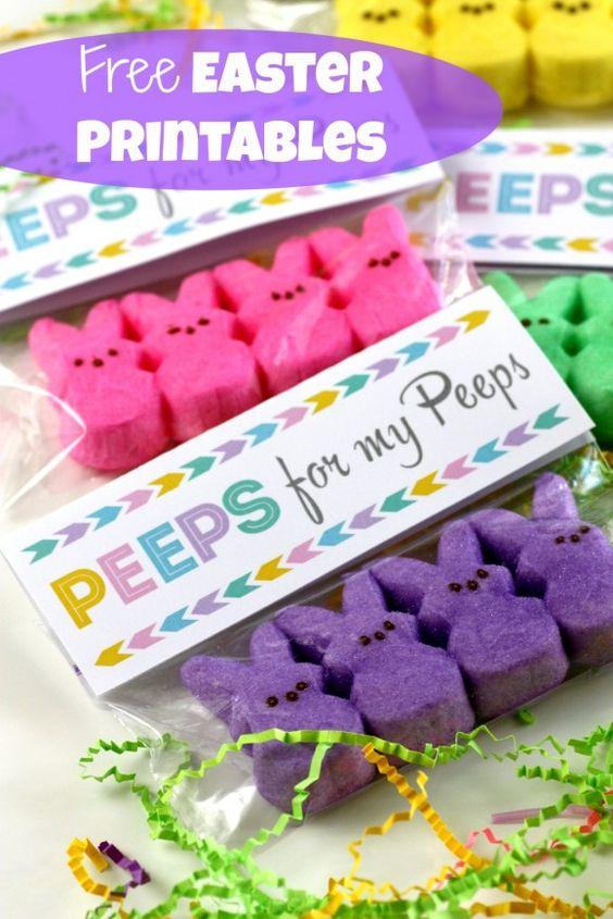 Что такое peeps :) Да это можно есть!